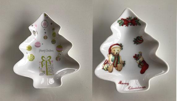 オリジナルのクリスマス小物をご自宅に★ポーセラーツでクリスマスプレートを作ろう!