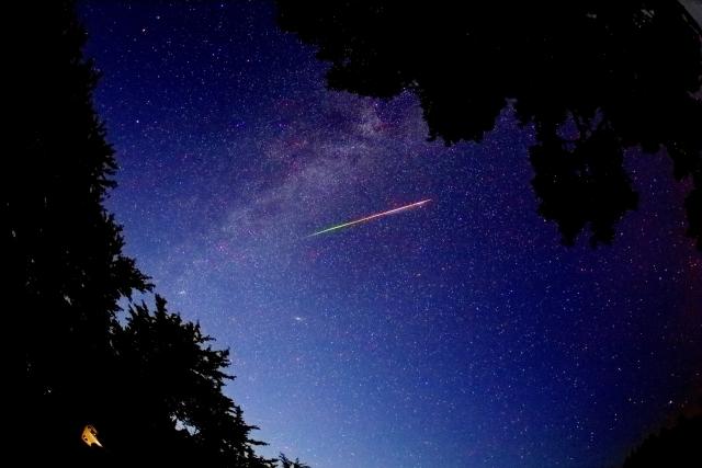 東京 群 座 ペルセウス 流星