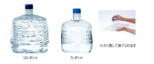 ボトル2種と潰したボトル